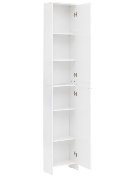 SCHILDMEYER Hochschrank »Luis«, BxHxT: 36 x 197,2 x 19,7 cm