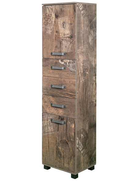 SCHILDMEYER Hochschrank »Milan«, BxHxT: 40 x 163,7 x 32 cm