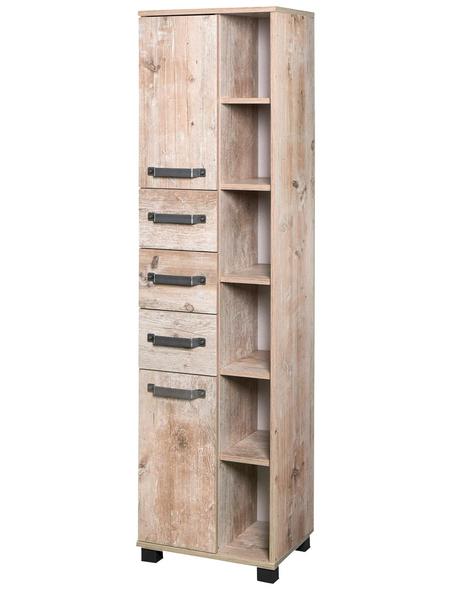 SCHILDMEYER Hochschrank »Milan«, BxHxT: 42 x 163,7 x 32 cm