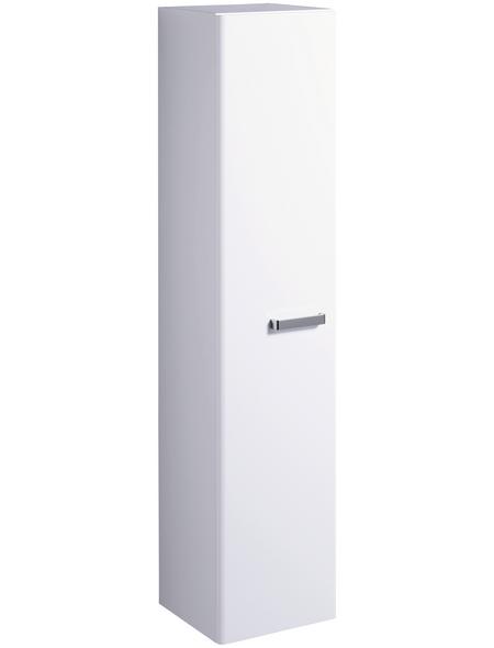 GEBERIT Hochschrank »Renova Plan«, B x H x T: 39 x 178 x 38,7 cm, weiß matt