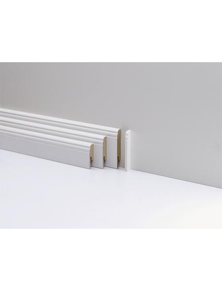 PARADOR Höhenvariable Abschlusskappe »Typ2«  aus Kunststoff, für Hamburger Leiste HL 1/2/3