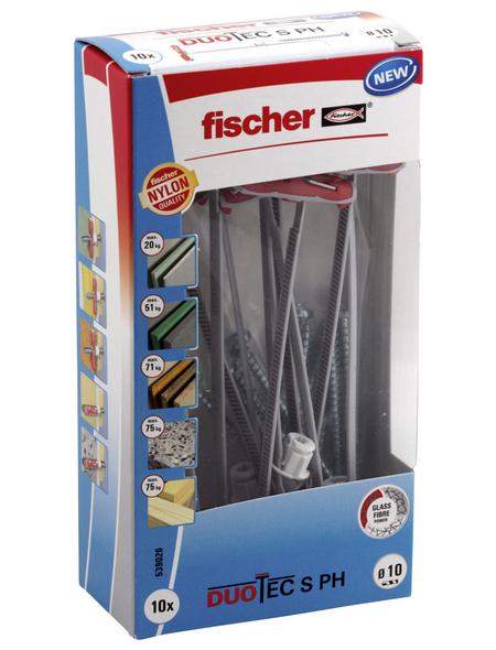 FISCHER Hohlraumdübel, DUOTEC, 2 Stück, 10 mm