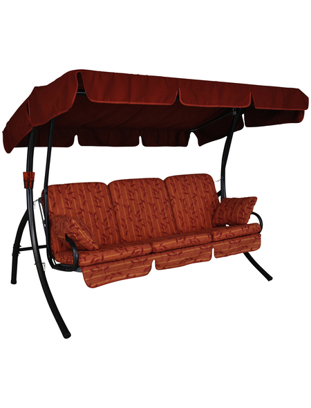 ANGERER FREIZEITMÖBEL Hollywoodschaukel »Comfort«, 3-Sitzer, inkl. Auflagen
