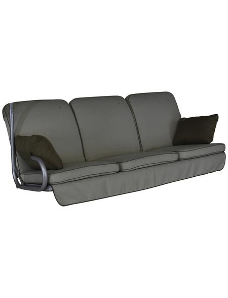 ANGERER FREIZEITMÖBEL Hollywoodschaukelauflage »Comfort Style«, Uni, beige, 56 cm x 180 cm