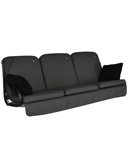 ANGERER FREIZEITMÖBEL Hollywoodschaukelauflage »Comfort Style«, Uni, grau, 56 cm x 180 cm
