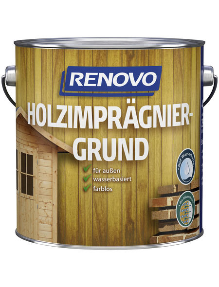 RENOVO Holz-Imprägniergrund Transparent