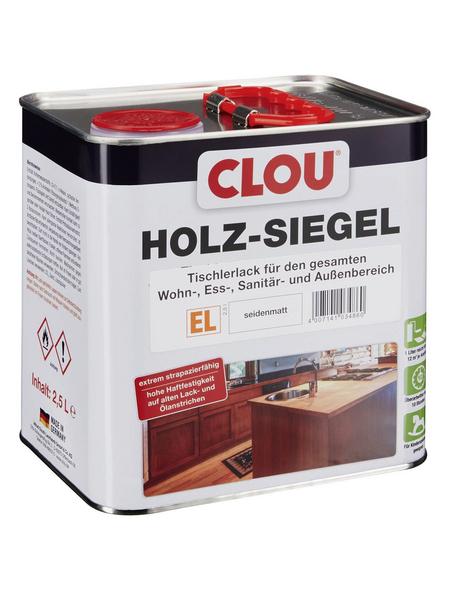 CLOU Holz-Siegel, transparent, seidenmatt