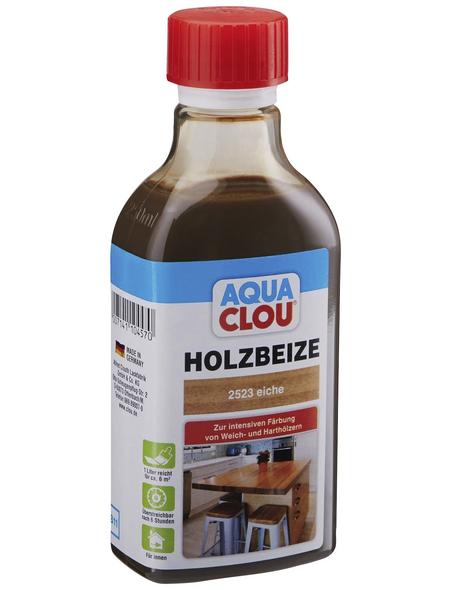 CLOU Holzbeize »AQUA«, Gebindegröße: 0,25 l, eiche