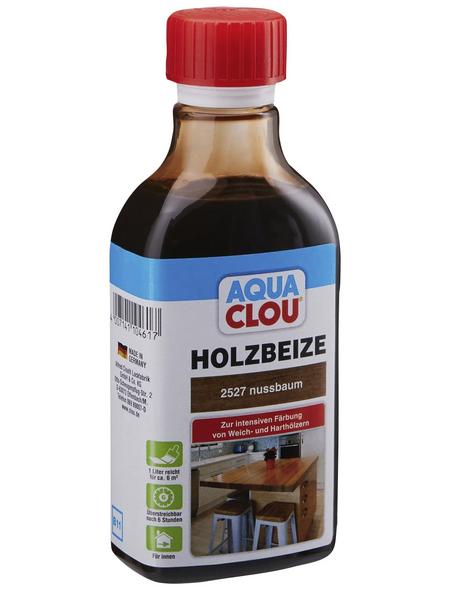 CLOU Holzbeize »AQUA«, Gebindegröße: 0,25 l, nussbaum