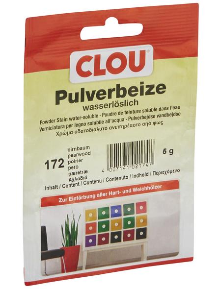 CLOU Holzbeize, Gebindegröße: 0,005 kg, birnbaumfarben