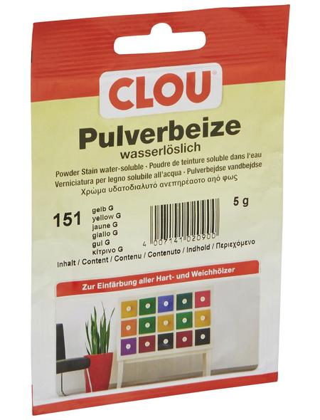 CLOU Holzbeize, Gebindegröße: 0,005 kg, gelb
