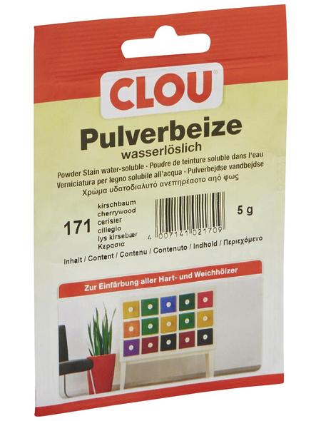 CLOU Holzbeize, Gebindegröße: 0,005 kg, kirschbaum