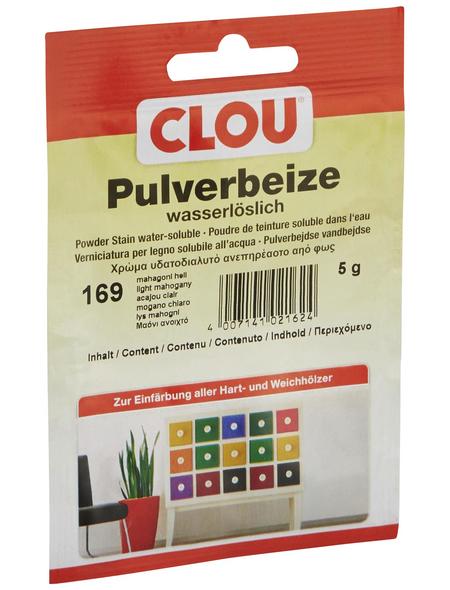CLOU Holzbeize, Gebindegröße: 0,005 kg, mahagoni