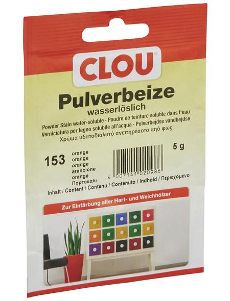 CLOU Holzbeize, Gebindegröße: 0,005 kg, orange