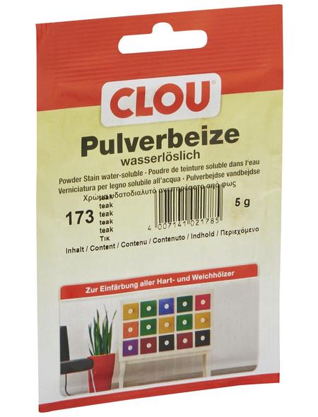 CLOU Holzbeize, Gebindegröße: 0,005 kg, teak