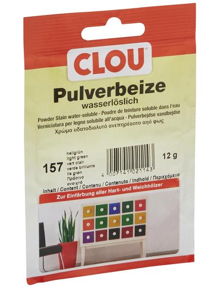 CLOU Holzbeize, Gebindegröße: 0,012 kg, hellgrün