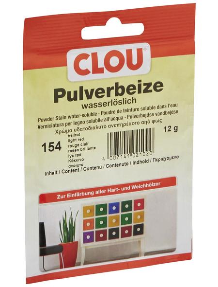 CLOU Holzbeize, Gebindegröße: 0,012 kg, hellrot