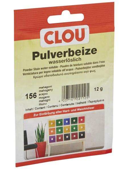 CLOU Holzbeize, Gebindegröße: 0,012 kg, mahagoni