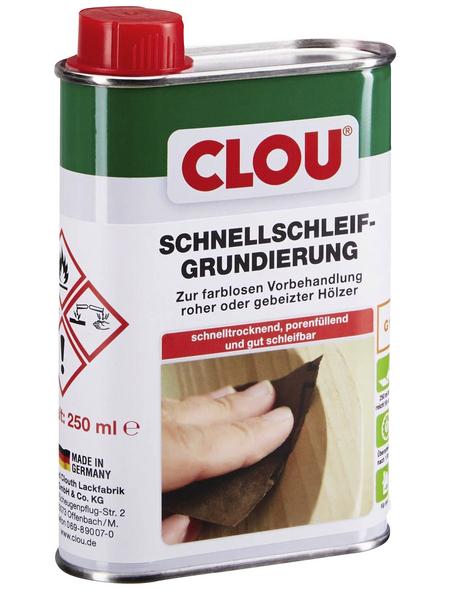 CLOU Holzgrundierung, für innen, 0,25 l, farblos
