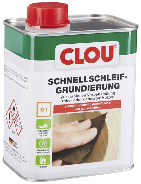 CLOU Holzgrundierung, für innen, 0,75 l, farblos
