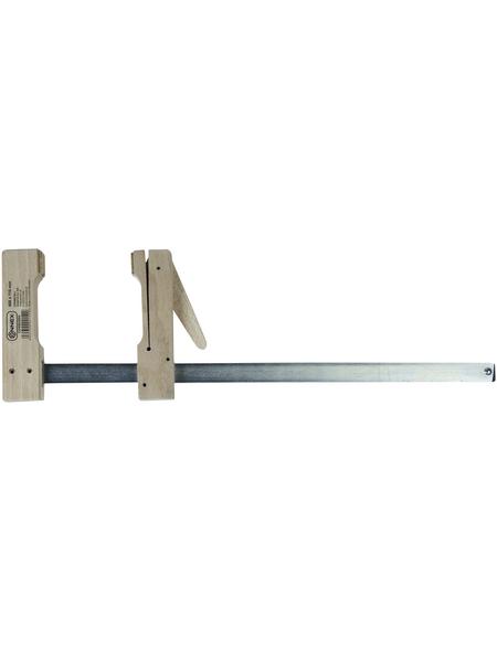 CONNEX Holzklemmzwingen, Spannweite: 400 mm, Buchenholz/Stahl, 49 cm