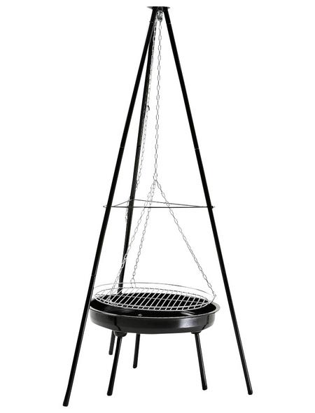 LANDMANN Holzkohlegrill, Grillfläche ⌀ 50 cm