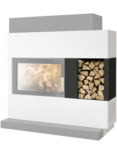 HAAS & SOHN Holzlagerfach, BxHxL: 56 x 50,5 x 57 cm, grau
