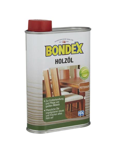 BONDEX Holzöl rotbraun 0,25 l