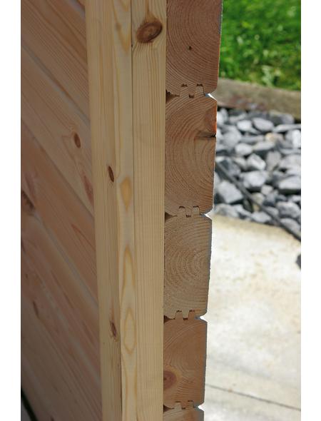WOLFF Holzpavillon »Roma 4.0«, achteckig, achteckig, BxT: 400 x 400 cm, inkl. Dacheindeckung