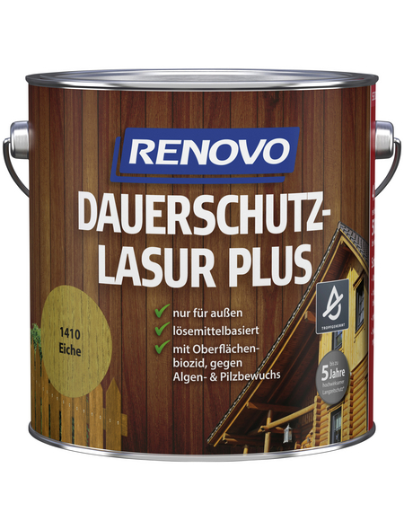 RENOVO Holzschutz-Lasur Eiche