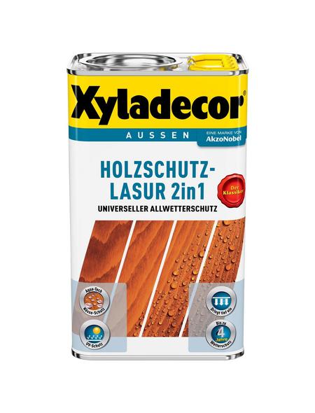 XYLADECOR Holzschutz-Lasur, für außen, 2,5 l, grau, matt