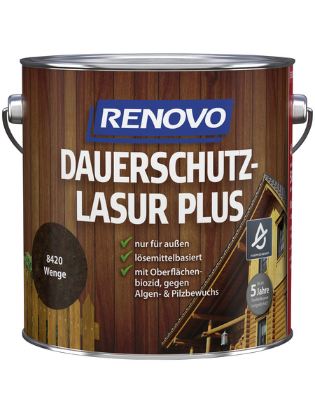 RENOVO Holzschutz-Lasur »PLUS«, Wenge
