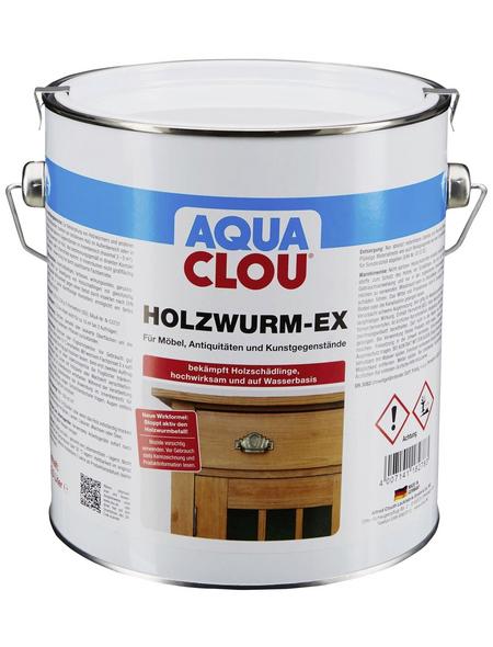 CLOU Holzschutzmittel »AQUA«, für innen & außen, 2,5 l, farblos, untergrundabhängig