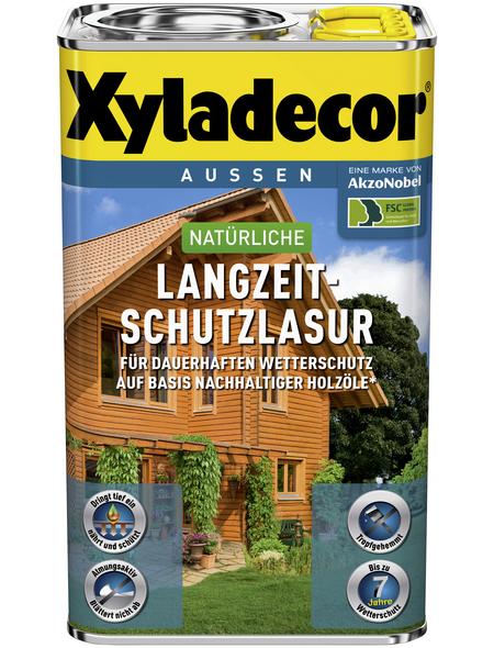 XYLADECOR Holzschutzmittel, Farbton Nussbaum, für außen, 0,75 l