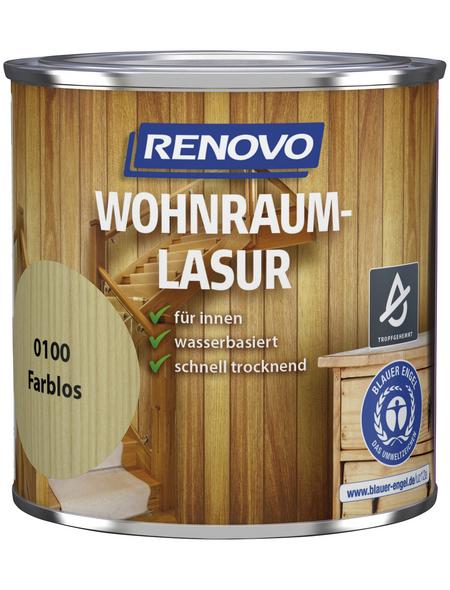 RENOVO Holzschutzmittel für innen, 0,375 l, farblos, seidenglänzend