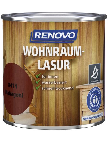 RENOVO Holzschutzmittel für innen, 0,375 l, Mahagoni, seidenglänzend