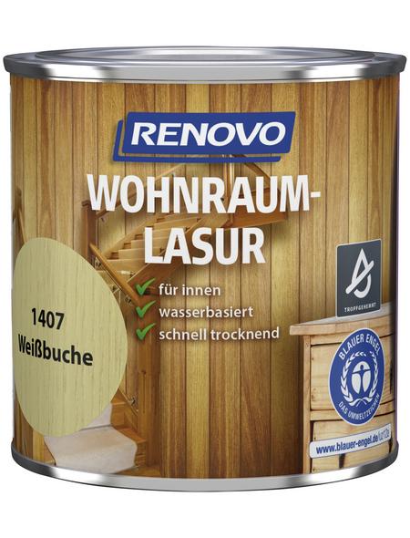 RENOVO Holzschutzmittel für innen, 0,375 l, weiß, seidenglänzend