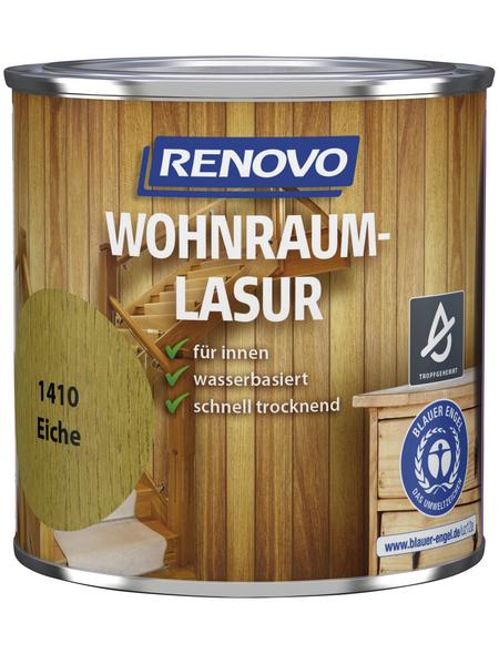 RENOVO Holzschutzmittel für innen, 0,38 l, Eiche, seidenglänzend