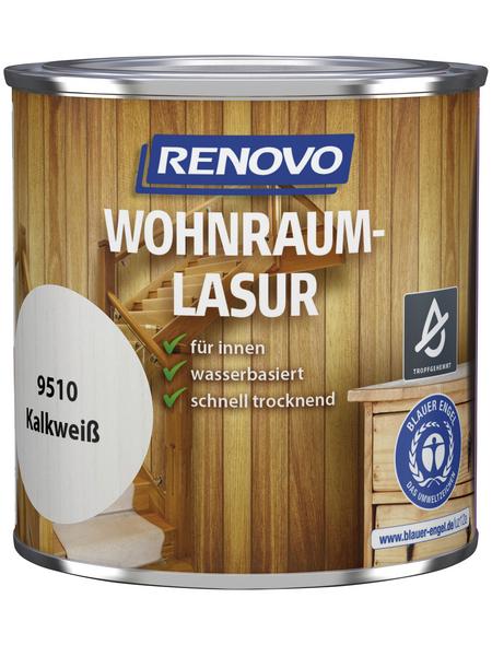 RENOVO Holzschutzmittel für innen, 0,38 l, kalkweiß, seidenglänzend
