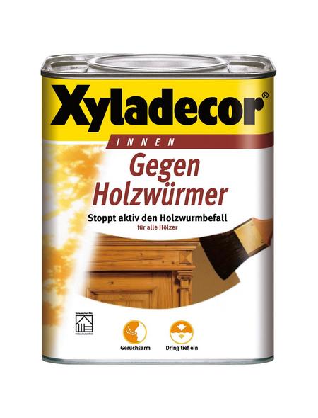 XYLADECOR Holzschutzmittel, für innen, 0,75 l, farblos, seidenglänzend