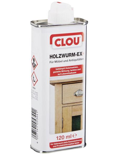 CLOU Holzschutzmittel, für innen & außen, 0,12 l, farblos, untergrundabhängig