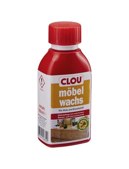 CLOU Holzwachs, 0,15 l, transparent