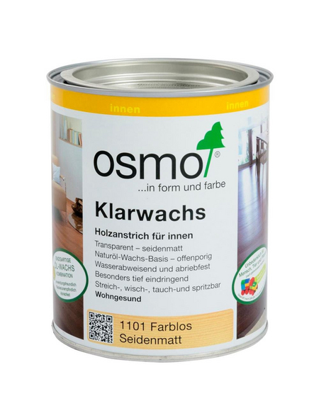 OSMO Holzwachs, 0,75 l, transparent