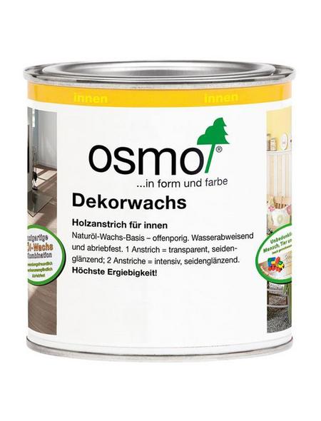 OSMO Holzwachs, für innen, 0,375 l, weiß, seidenmatt