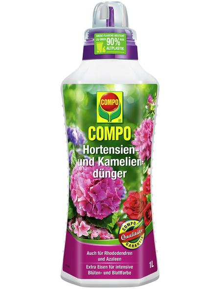 COMPO Hortensien-u. Kameliendünger 1 L