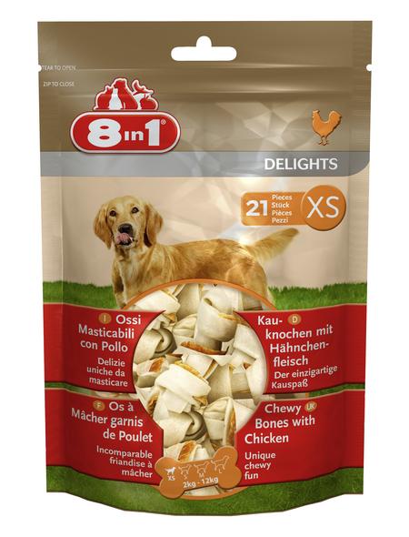 8IN1 Hunde-Kauknochen »Delights«, 268 g, Huhn