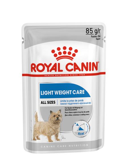 ROYAL CANIN Hunde-Nassfutter, 1 xCCN Light W. Care Wet