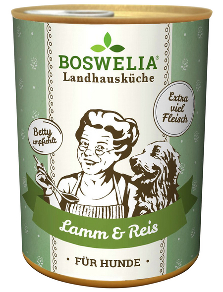 BOSWELIA Hunde-Nassfutter, 6 x 400g