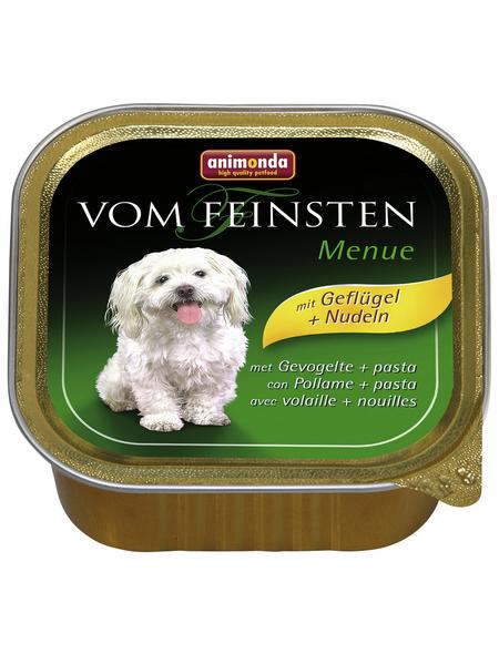 ANIMONDA Hunde Nassfutter »AN SH vom Feinsten Menü«, 22 Schalen à 150 g