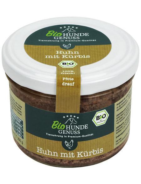 HUNDEGENUSS Hunde Nassfutter »Bio«, 1 Glas à 200 g